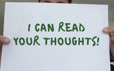 People can read your thoughts!