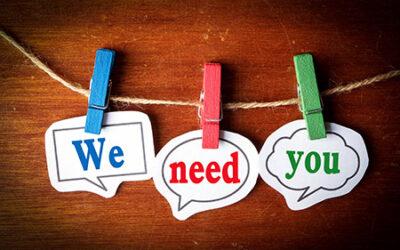 Jag behöver dig!