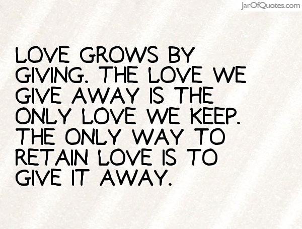 Älska mig – jag älskar dig!